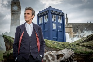 Programme Name: Doctor Who - TX: 22/08/2014 - Episode: n/a (No. n/a) - Picture Shows: The Doctor (PETER CAPALDI) - (C) BBC - Photographer: Guy Levy