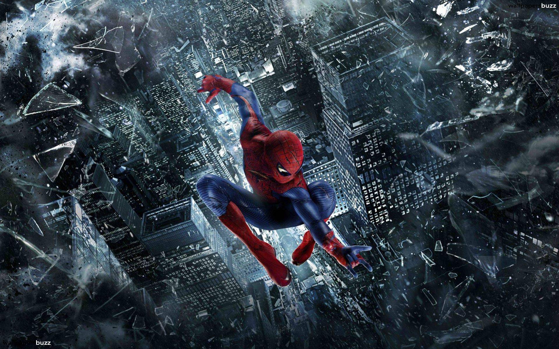 Spiderman-Jumping-HD-Wallpaper