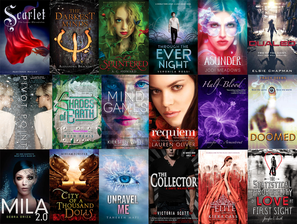 young-adult-books-selection