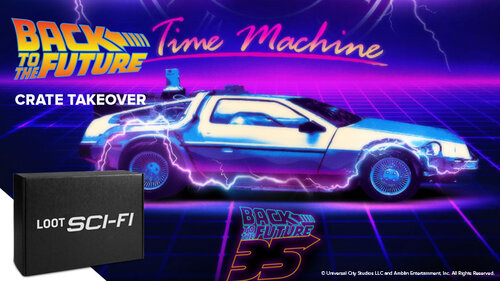 Great Scott! October's Sci-Fi Crate goes Back to the Future!