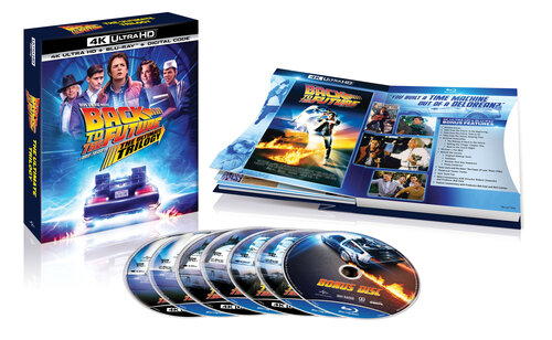 In Honor of Back to the Future's 35th Anniversary, One of the Biggest Motion Picture Trilogies Comes to 4K Ultra HD for the First Time Ever