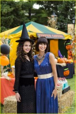 Middleton's charming 'Good Witch' Cassie Nightingale returns! As Middleton prepares to host its annual Halloween Fall Festival, Cassie is struggling to spark excitement among her daughter Grace and the rest of her family for their traditionally favorite haunted holiday. Meanwhile, Sam is in need of a spell to see eye to eye with his son Nick, while Abigail launches a sneaky campaign to become the next Festival Queen. And when the Grey House welcomes a spooky stranger with a troubled past, it will take Cassie's signature intuition, and the teamwork of her whole family, to put a stop to a dangerous curse and ensure a happy Halloween for all of Middleton. Photo: Bailee Madison, Catherine Bell Credit: Copyright 2015 Crown Media United States LLC/Photographer: Brooke Palmer