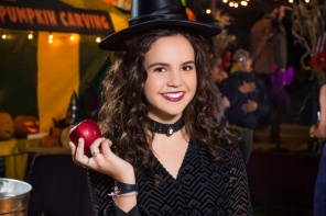 Middleton's charming 'Good Witch' Cassie Nightingale returns! As Middleton prepares to host its annual Halloween Fall Festival, Cassie is struggling to spark excitement among her daughter Grace and the rest of her family for their traditionally favorite haunted holiday. Meanwhile, Sam is in need of a spell to see eye to eye with his son Nick, while Abigail launches a sneaky campaign to become the next Festival Queen. And when the Grey House welcomes a spooky stranger with a troubled past, it will take Cassie's signature intuition, and the teamwork of her whole family, to put a stop to a dangerous curse and ensure a happy Halloween for all of Middleton. Photo: Bailee Madison Credit: Copyright 2015 Crown Media United States LLC/Photographer: Brooke Palmer