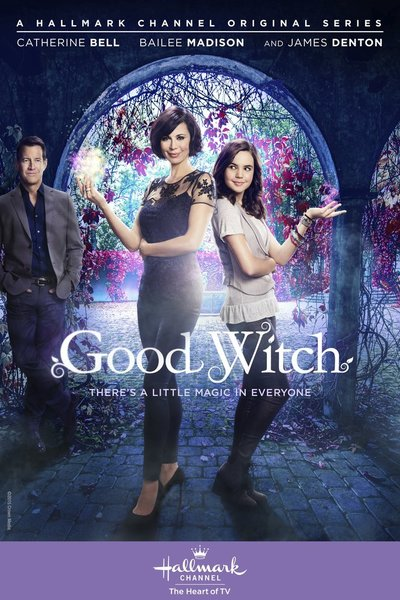 """GOOD WITCH SEASON 1 - """"Good Witch"""" will take viewers on a new magical journey with Cassie Nightingale (Bell) and her bright, young-teenage daughter Grace (Madison), who shares her mom's special intuitive charm. When Sam, a doctor (Denton), and his teenage son move in next door to Grey House, they are immediately charmed by the """"magical"""" mother-daughter duo and wonder is it really magic, a lucky coincidence or just a special intuitive insight only this family possesses? Based on one of the network's most successful Original Movie franchise of all time, """"Good Witch"""" will inspire with each intriguing episode and will have viewers immediately charmed by the quaint town of Middleton - which is in store for new changes, big surprises, and, of course, a little bit of magic!"""