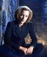 Oct 05, 1997; Los Angeles, CA, USA; Actress GILLIAN ANDERSON (Agent Dana Scully) on 'The X Files.' Mandatory Credit: Photo by Mark Seliger/FOX/Entertainment Pictures. (©) Copyright 1997 by FOX