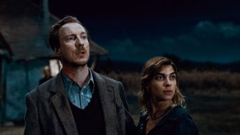 """(L-r) DAVID THEWLIS as Remus Lupin and NATALIA TENA as Nymphadora Tonks in Warner Bros. Pictures' fantasy adventure """"HARRY POTTER AND THE DEATHLY HALLOWS – PART 1,"""" a Warner Bros. Pictures release"""