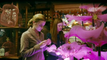 """EMMA WATSON as Hermione Granger and BONNIE WRIGHT as Ginny Weasley in Warner Bros. PicturesÕ fantasy adventure movie ÒHarry Potter and the Half-Blood Prince."""" NOTE; THIS PHOTO WAS DOWNLOADED BY CONSENTING TO AN AGREEMENT THAT IT WOULD NOT BE USED OUTSIDE THE LOS ANGELES TIMES. WE RECEIVED SPECIAL PERMISSION TO KEEP THIS PHOTO IN OUR DATABASE BEYOND THE STATED 90 DAY RESTRICTION. CAN BE USED ONLY IN EDITORIAL. NO ADS, SALES, ETC. PERMISSION GIVE BY JESSE MESA,WARNER BROS. PHOTO (818) 954-6256."""