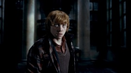 """Harry Potter and the Deathly Hallows - Part 1 - MOVIE 2010: RUPERT GRINT as Ron Weasley in Warner Bros. Pictures' fantasy adventure """"HARRY POTTER AND THE DEATHLY HALLOWS – PART 1,"""" a Warner Bros. Pictures release."""