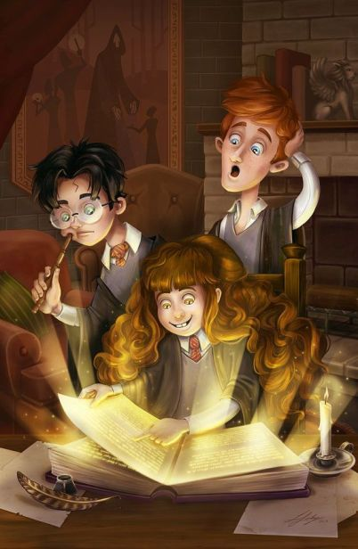 962c60eff630110322bf28747761206b--harry-potter-hermione-granger-ron-weasley