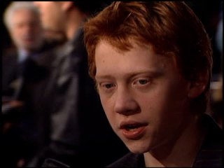 Rupert Grint at the 'Harry Potter and the Chamber of Secrets' Premiere on November 14, 2002. (Footage by WireImage Video/Getty Images)