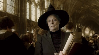 HP6-FP-00220 MAGGIE SMITH as Professor Minerva McGonagall in Warner Bros. PicturesÕ fantasy adventure ÒHarry Potter and the Half-Blood Prince.Ó