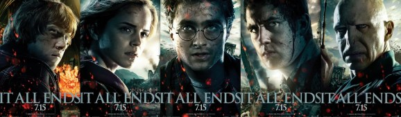 Harry Potter and the Deathly Hallows characters poster
