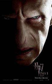 Harry Potter and the Deathly Hallows Part 1 Portrait Movie Poster Set - Ralph Fiennes as Lord Voldemort