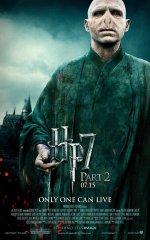 Harry Potter and the Deathly Hallows Part II (2011) poster - Lord Voldemort