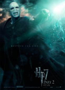 Harry Potter and the Deathly Hallows Part II (2011) poster - Ralph Fiennes (Lord Voldemort)