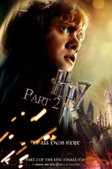 Harry Potter and the Deathly Hallows Part II (2011) poster - Rupert Grint 2